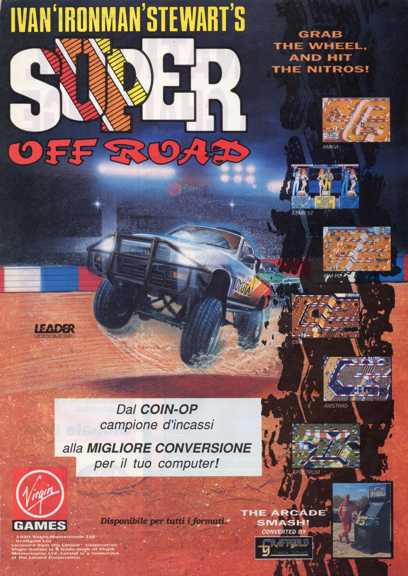 Ivan 'Ironman' Stewart's Super Off Road Magazine Advertisement