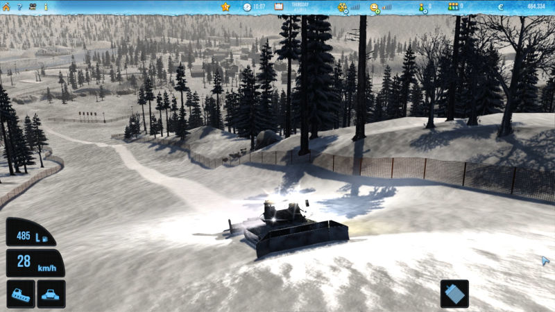 Ski-World Simulator 2012 Screenshot