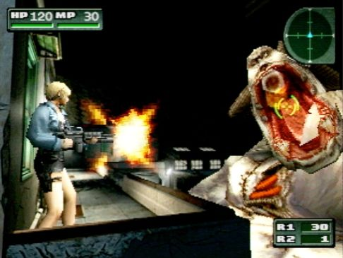 Parasite Eve II Screenshot