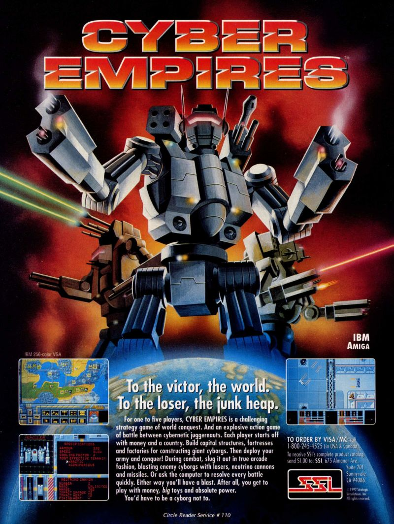 Cyber Empires Magazine Advertisement
