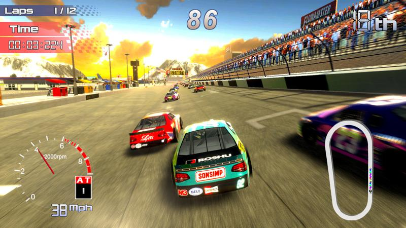 Speedway Racing Screenshot