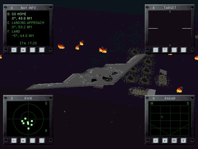 Jane's Combat Simulations: ATF - Advanced Tactical Fighters Screenshot