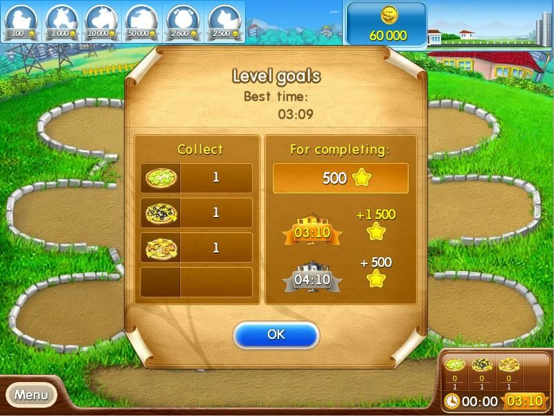 Farm Frenzy: Pizza Party Screenshot