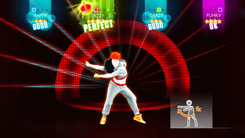 Just Dance 2014 Screenshot Feel So Right - Imposs