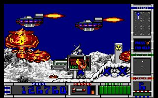Duke Nukem II Screenshot