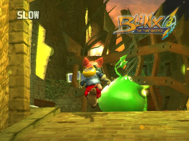 Blinx: The Time Sweeper Screenshot