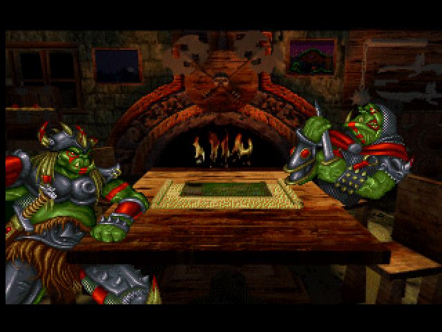 Warcraft Orcs Humans 1994 Promotional Art Mobygames
