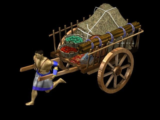 Image result for aoe 2 trade cart