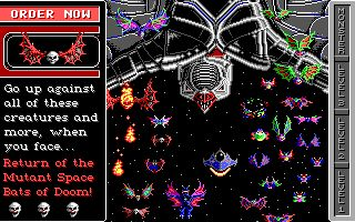 Invasion of the Mutant Space Bats of Doom Screenshot