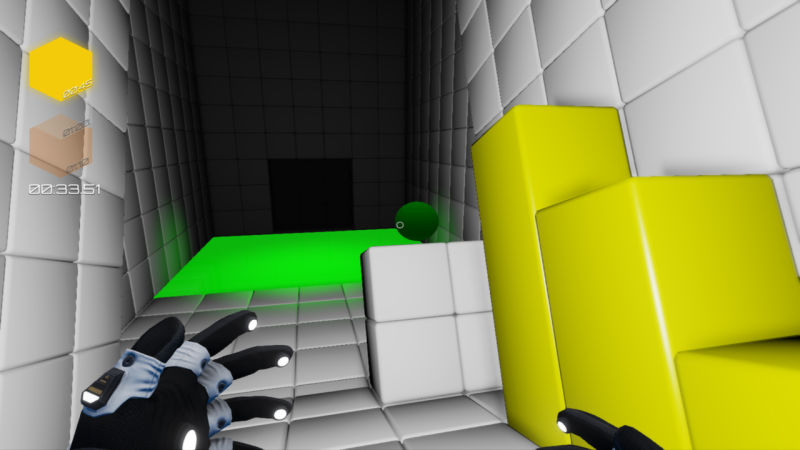 Q.U.B.E.: Against the Clock Screenshot