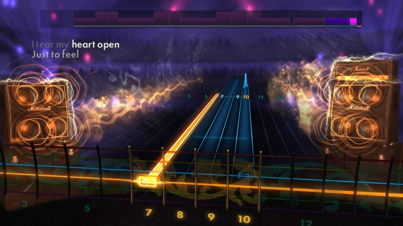 Rocksmith: All-new 2014 Edition - Papa Roach: Scars Screenshot