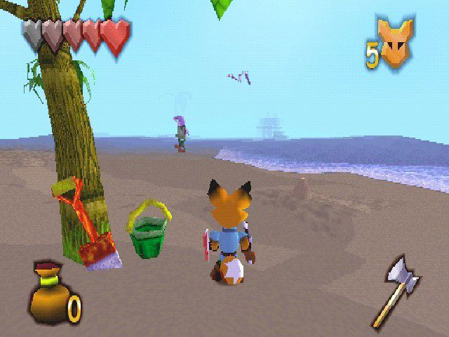 Kingsley's Adventure Screenshot