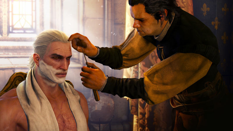 The Witcher 3: Wild Hunt - Beard and Hairstyle Set Screenshot