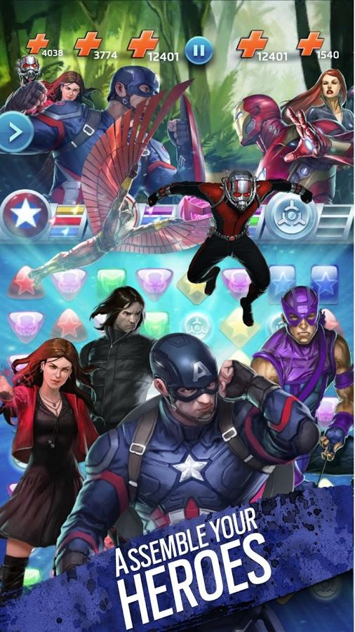 Marvel Puzzle Quest Other