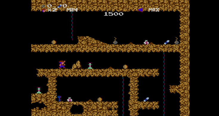 Spelunker Screenshot