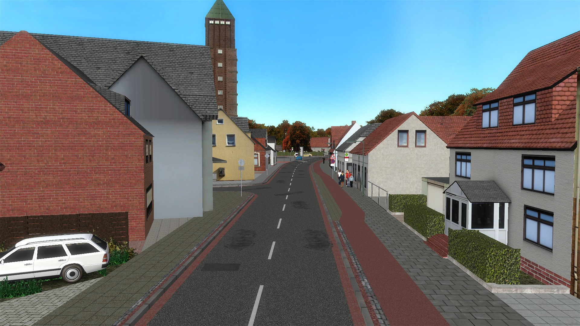 OMSI 2: Addon Bremen-Nord (2017) promotional art - MobyGames