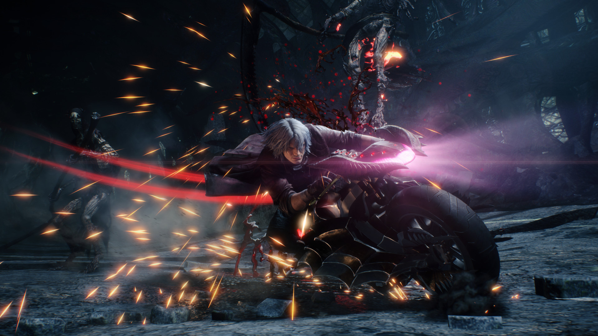 Devil May Cry 5 2019 Promotional Art Mobygames