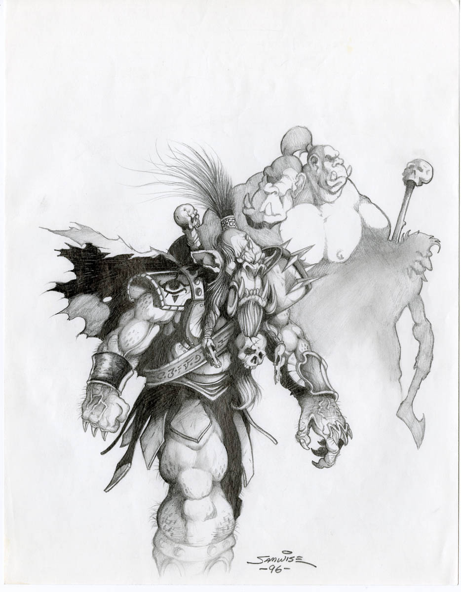 warcraft 2 concept art