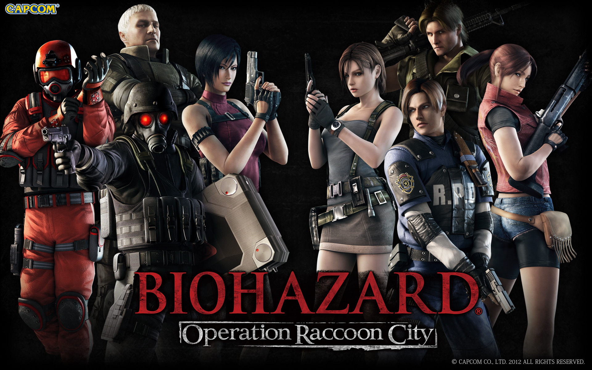 Resident Evil Operation Raccoon City 2012 Promotional Art