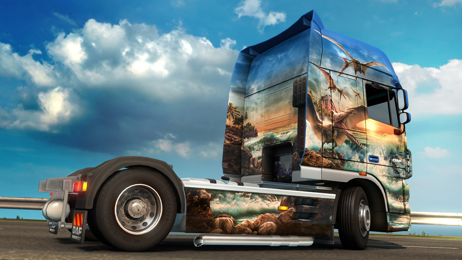Euro Truck Simulator 2: Prehistoric Paint Jobs Pack (2015