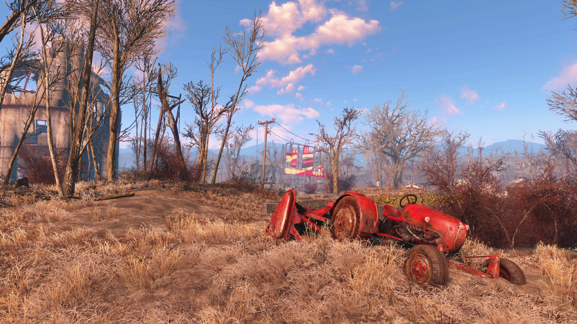 Fallout 4 Screenshot A Typical View Of The Commonwealth