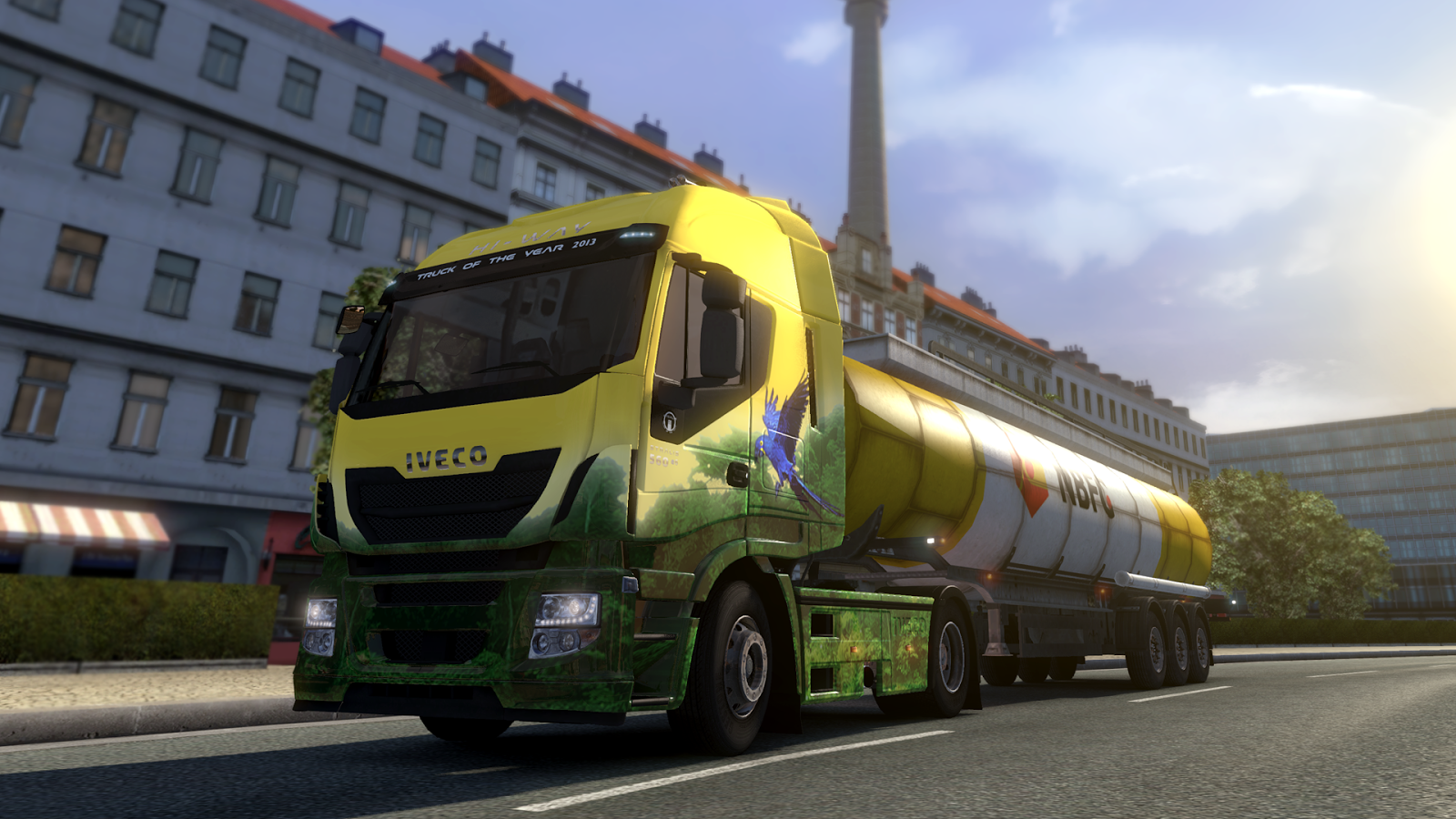 Euro Truck Simulator 2: Brazilian Paint Jobs Pack (2014