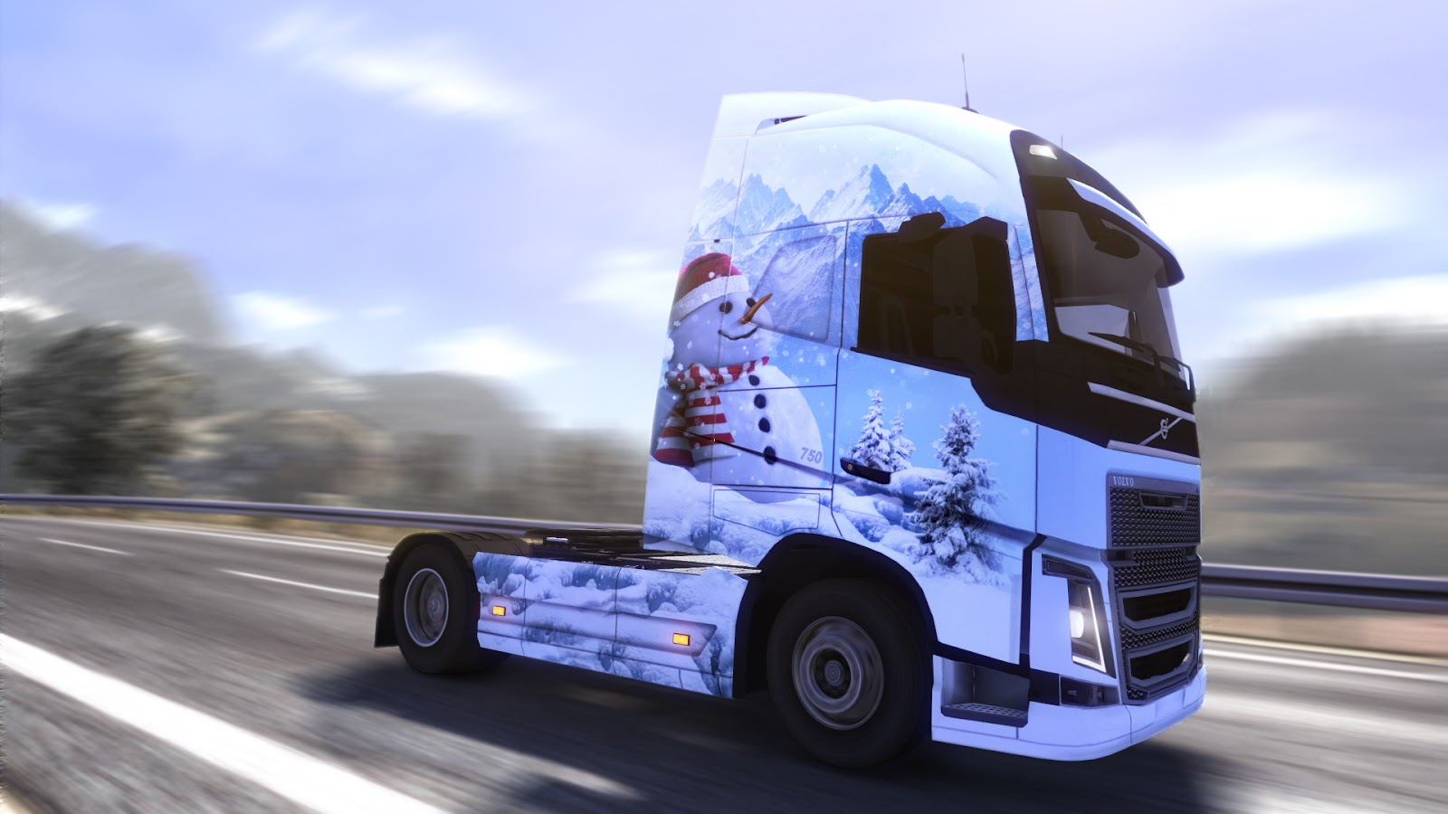 Euro Truck Simulator 2: Ice Cold Paint Jobs Pack (2013