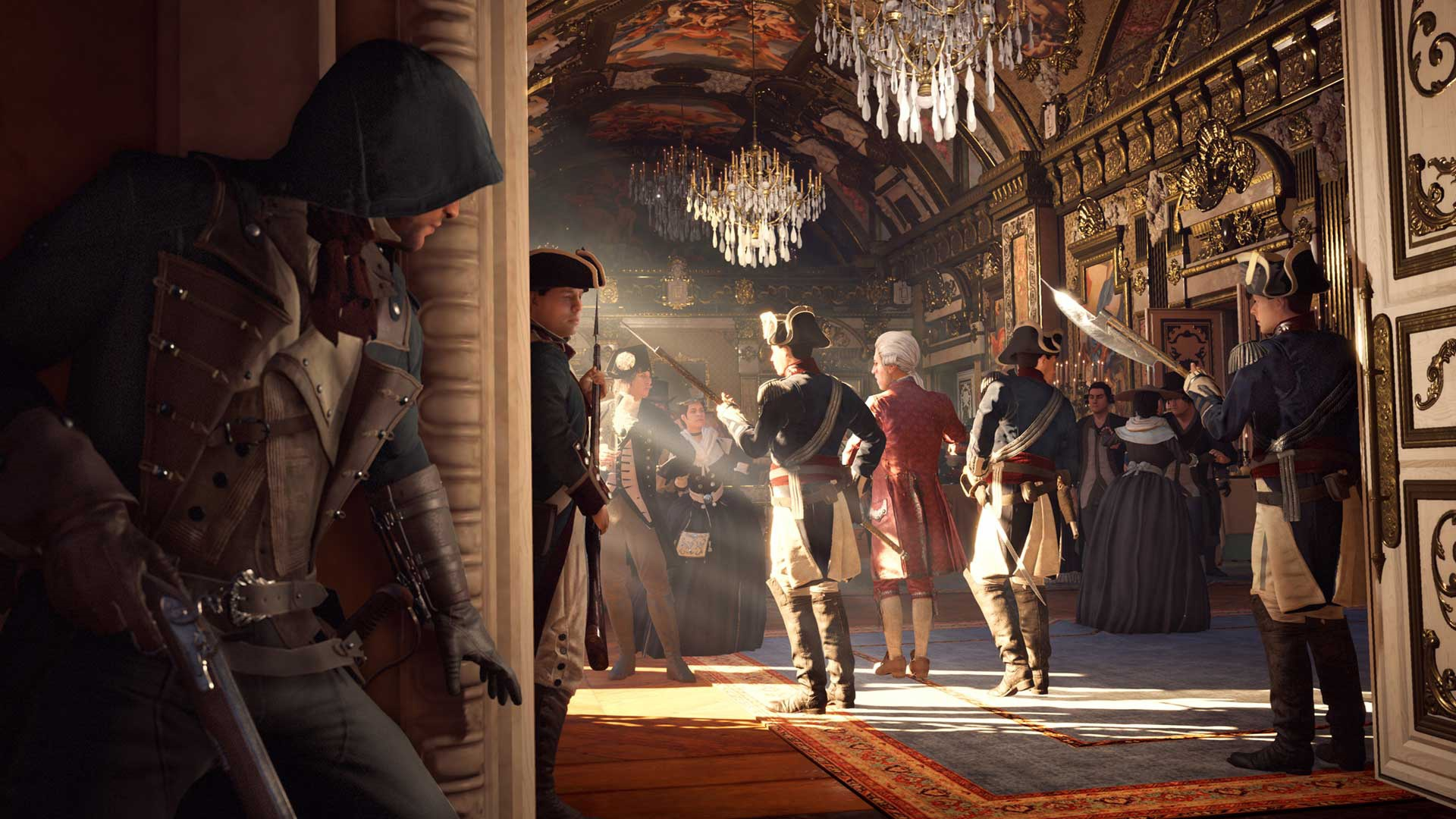 Assassin S Creed Unity 2014 Promotional Art Mobygames