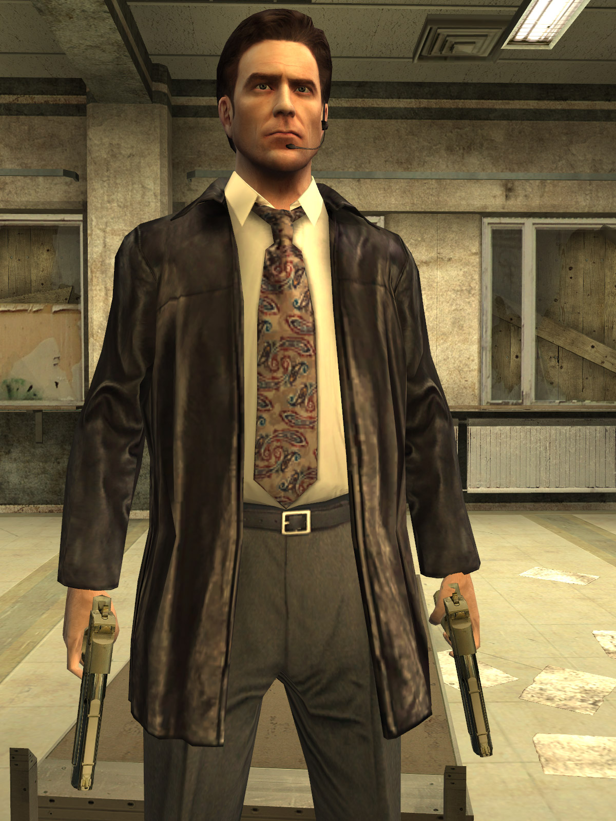 Max Payne 2 The Fall Of Max Payne 2003 Promotional Art