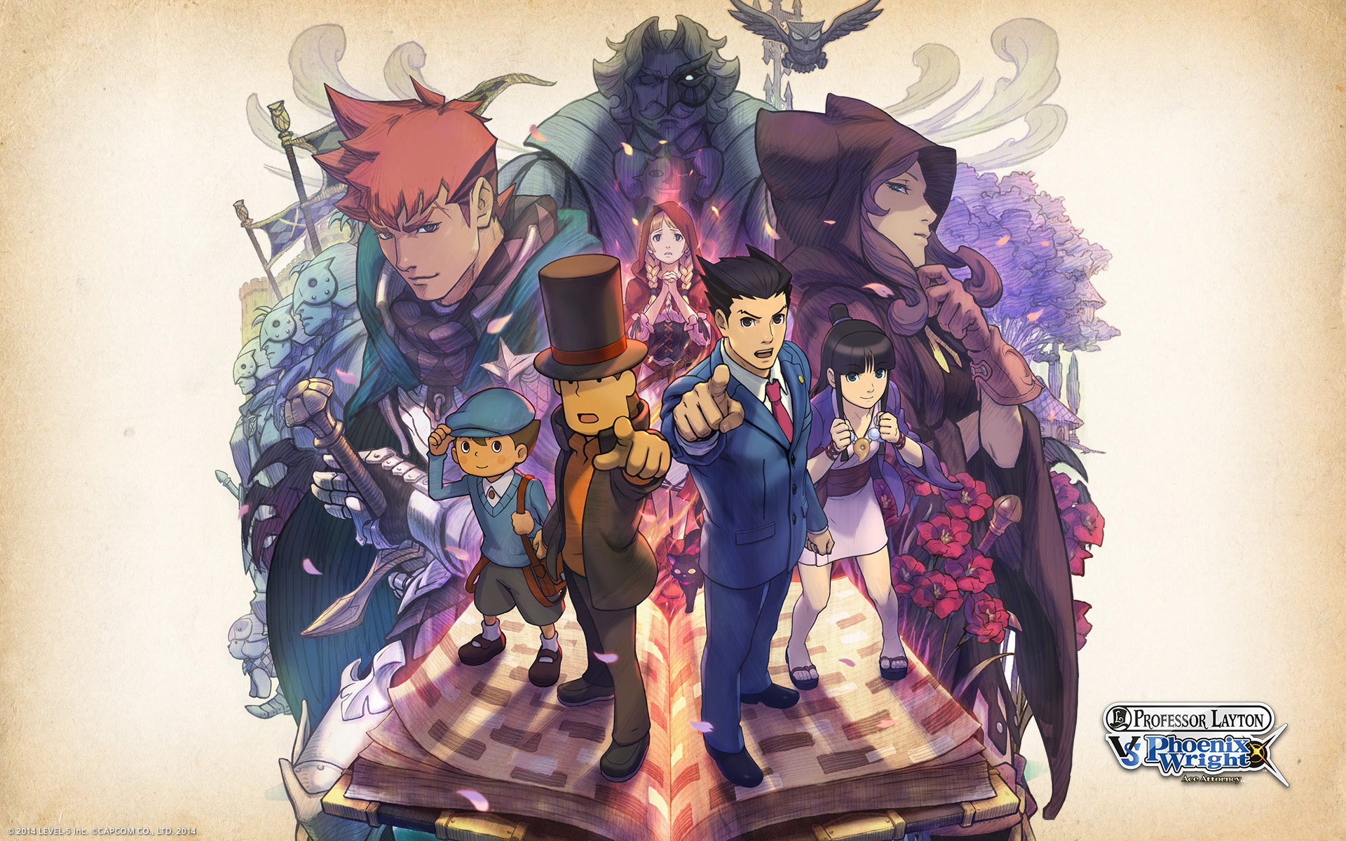 Professor Layton Vs Phoenix Wright Ace Attorney 2012