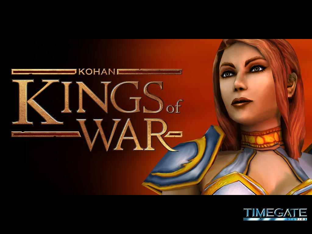 Kohan II: Kings of War (2004) promotional art - MobyGames