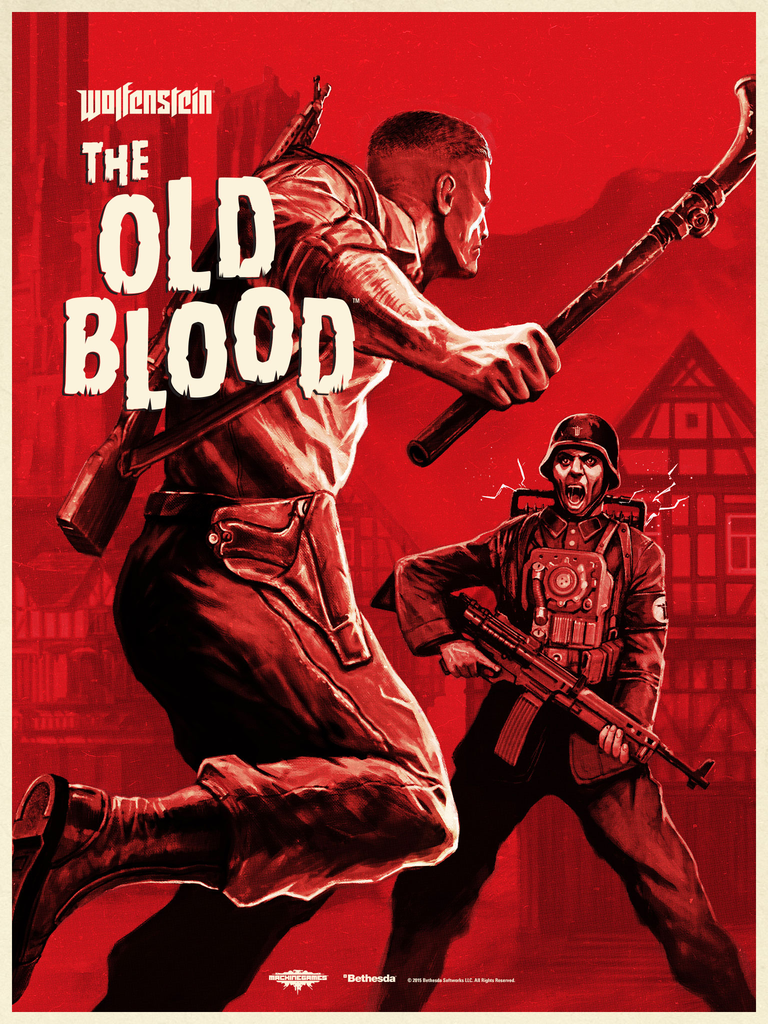 Wolfenstein The Old Blood 2015 Promotional Art Mobygames