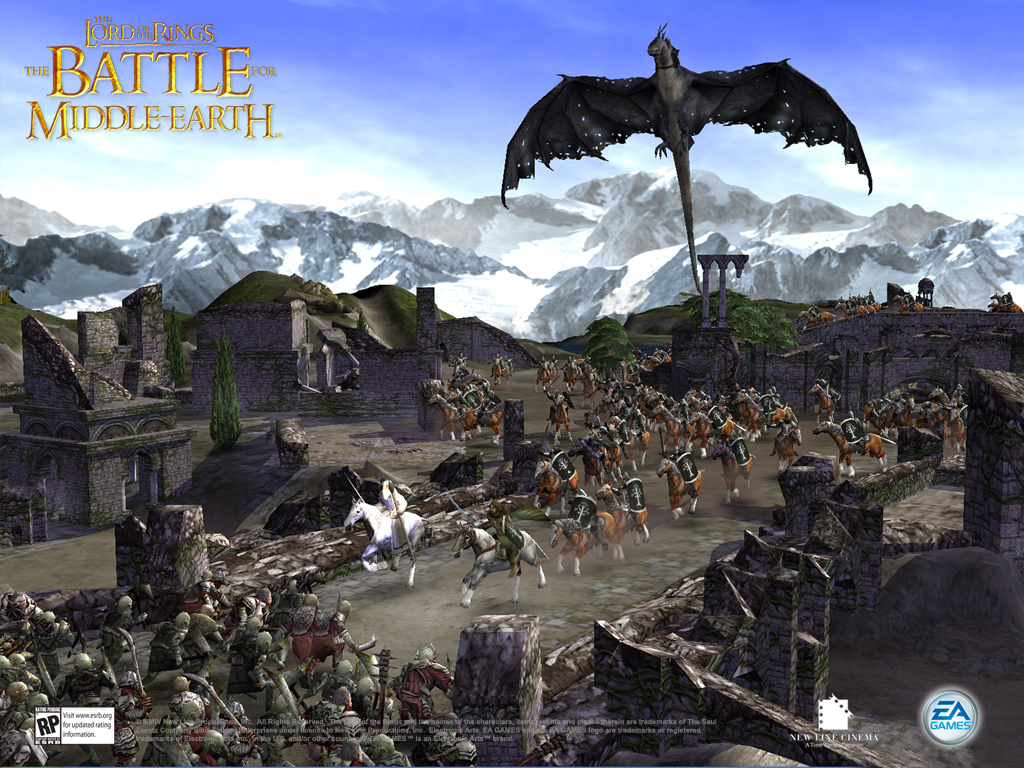 the lord of the rings: the battle for middle-earth (2004