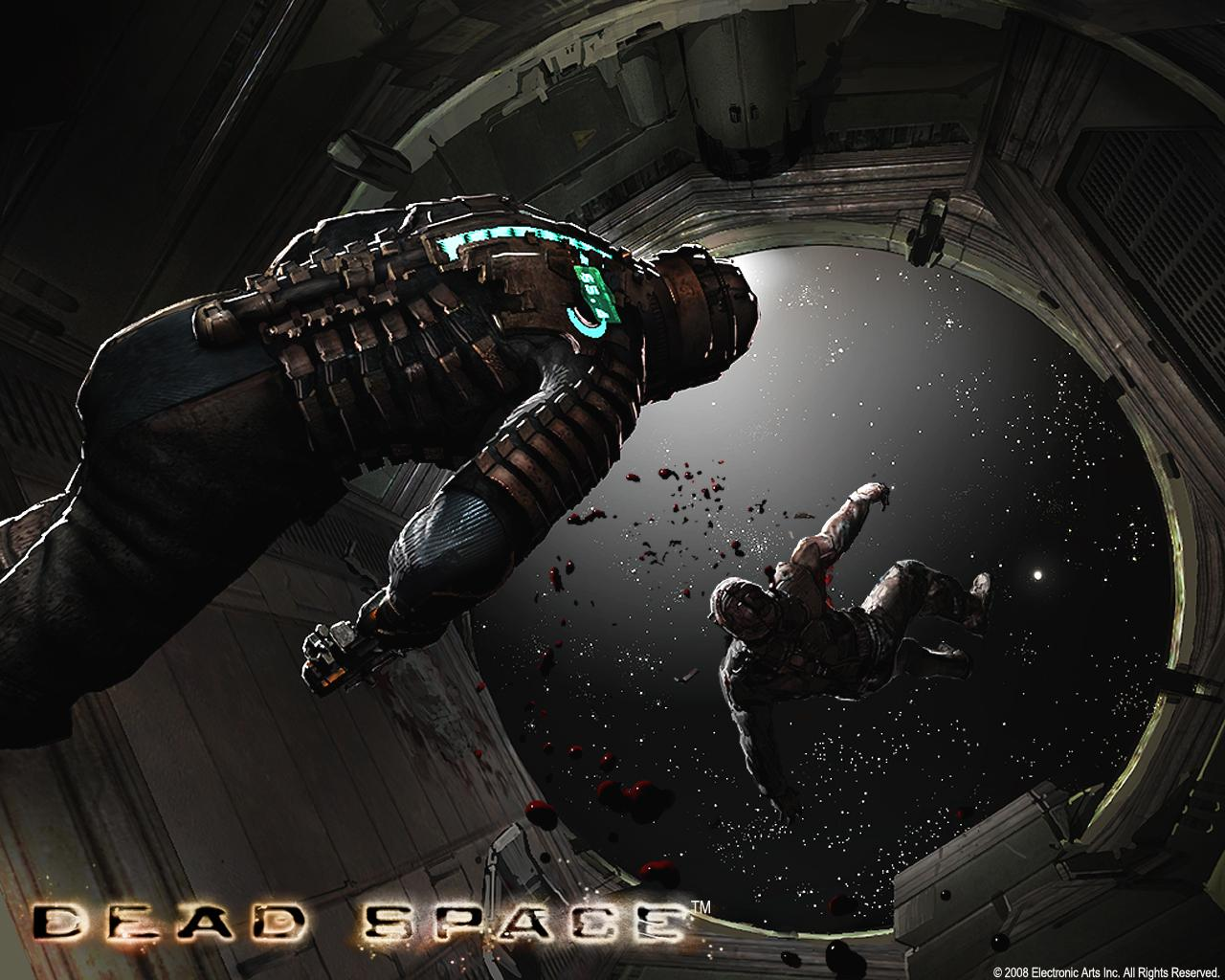 dead space (2008) promotional art - mobygames