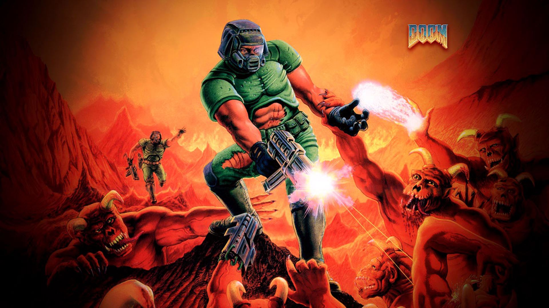 how to use a controller ultimate doom