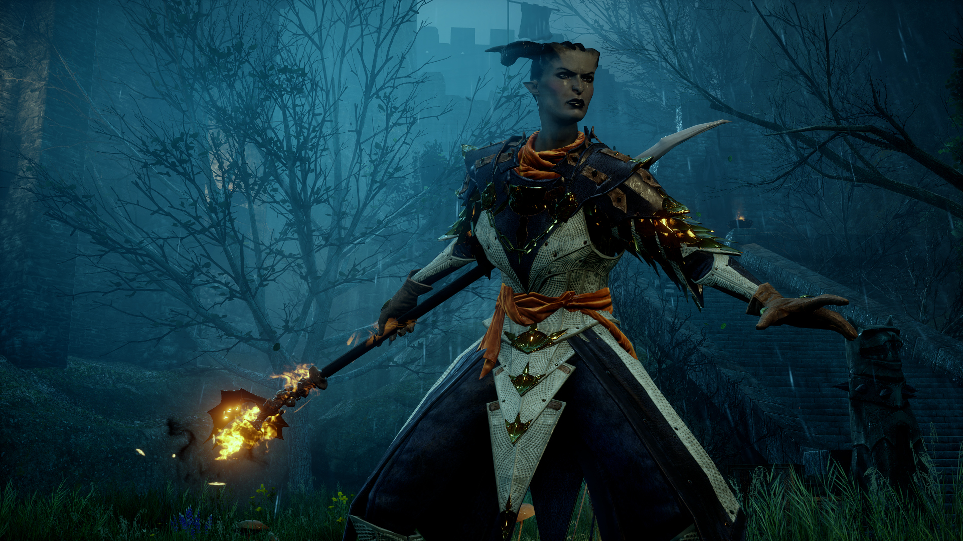 Dragon Age Inquisition Screenshot A Mage Player Character
