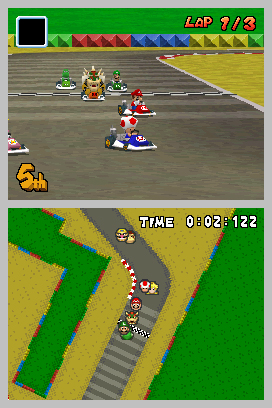 Mario Kart Ds 2005 Promotional Art Mobygames
