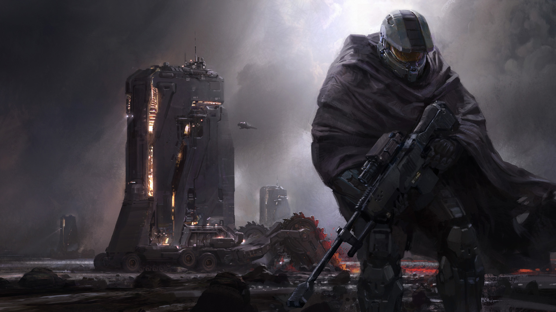 Halo 5: Guardians (2015) promotional art - MobyGames