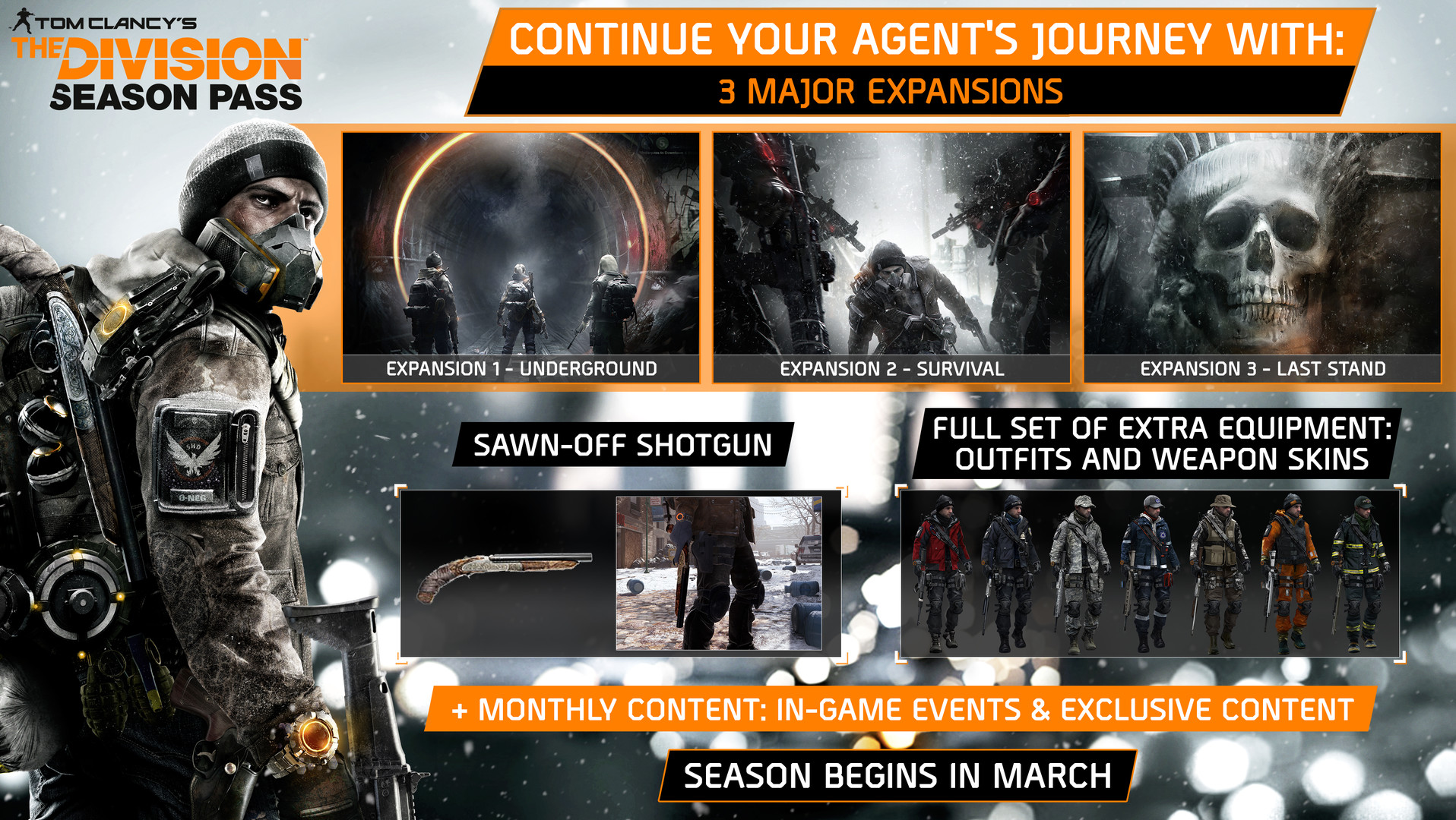 Tom Clancys The Division Season Pass 2016 Promotional