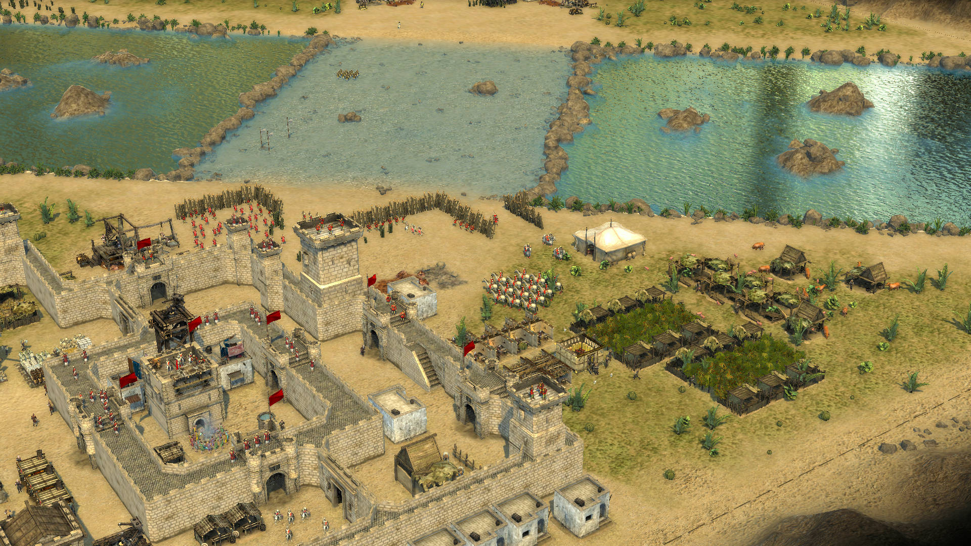Stronghold Crusader II: The Jackal & The Khan 2015 pc game Img-2