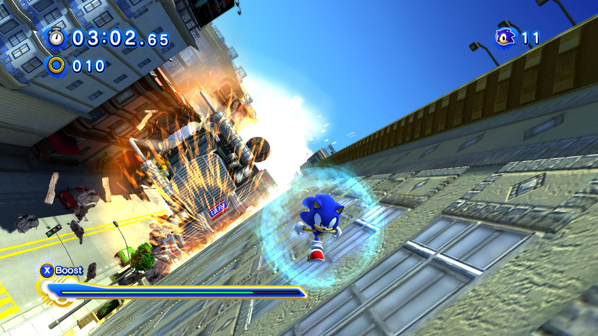 Sonic generations demo available now for ps3 and xbox 360.
