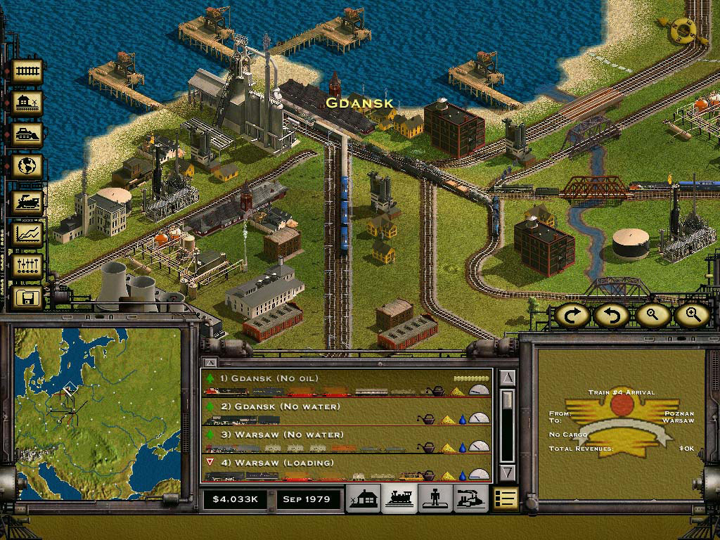 Railroad tycoon ii: platinum (2001) promotional art mobygames.