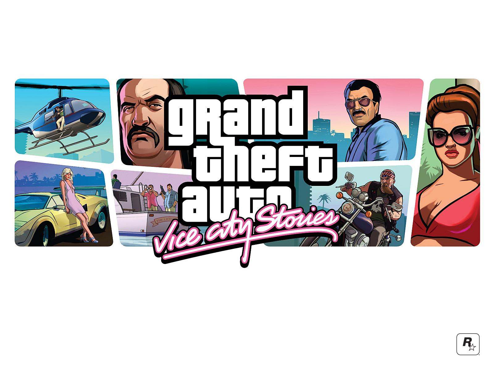 Grand Theft Auto Vice City Stories 2013 Promotional Art Mobygames