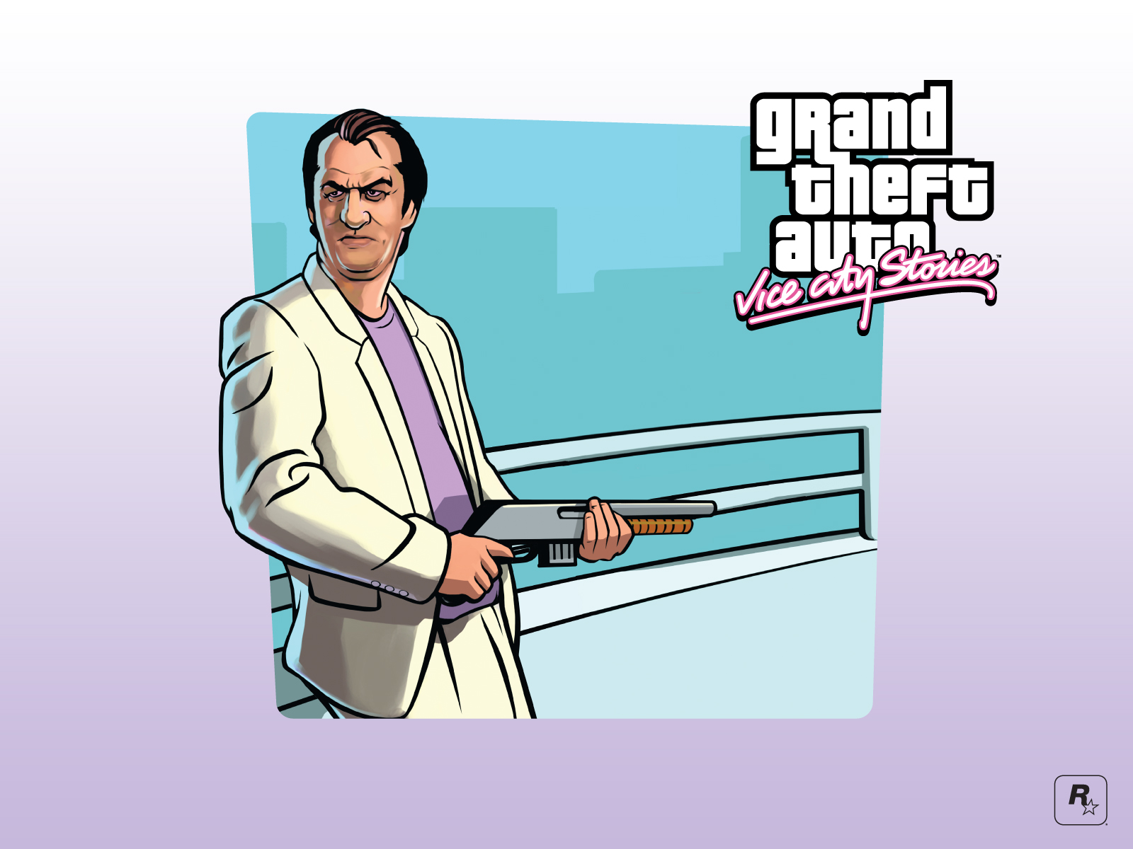Grand Theft Auto: Vice City Stories (2007) promotional art
