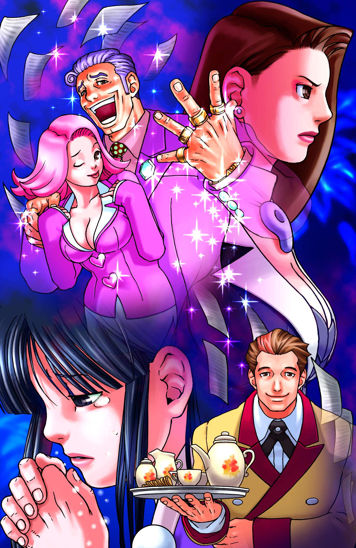 Phoenix Wright Ace Attorney 2010 Promotional Art Mobygames