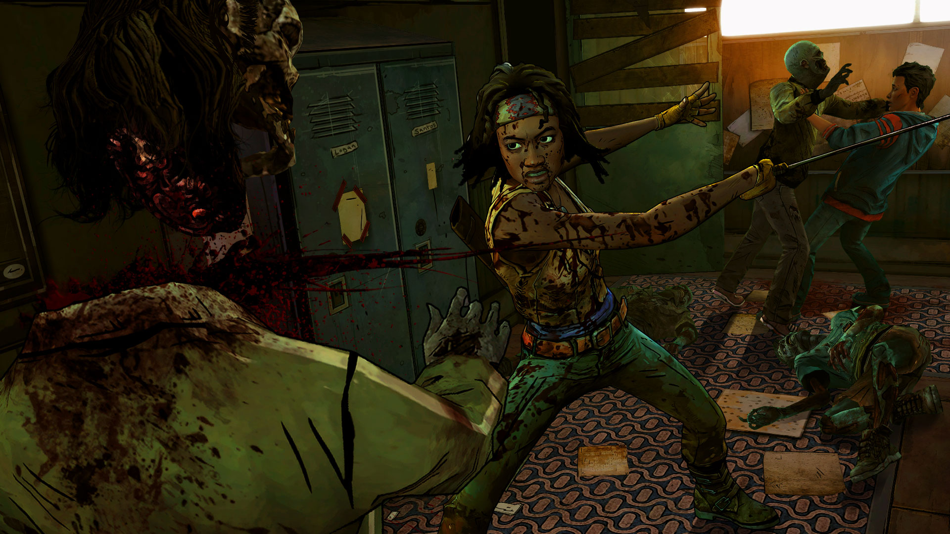The Walking Dead Michonne 2016 Promotional Art Mobygames
