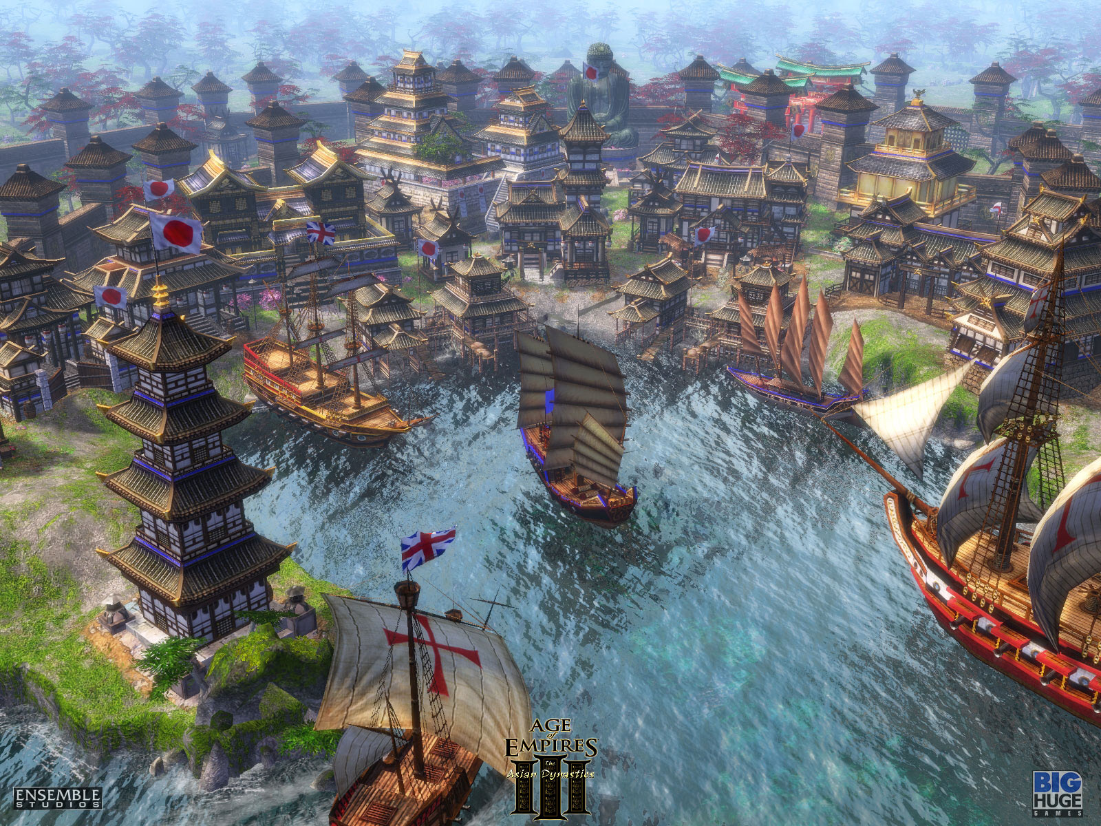 Age Of Empires Iii The Asian Dynasties 2007 Promotional Art