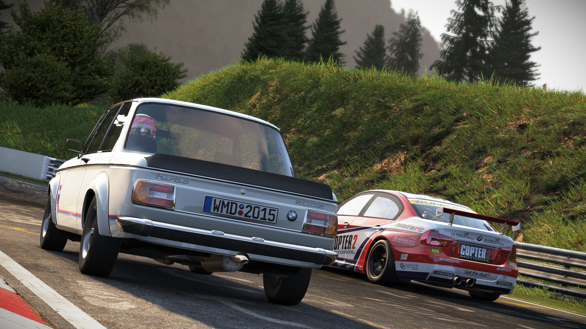 Project Cars: Old Vs New Car Pack (2015) promotional art - MobyGames