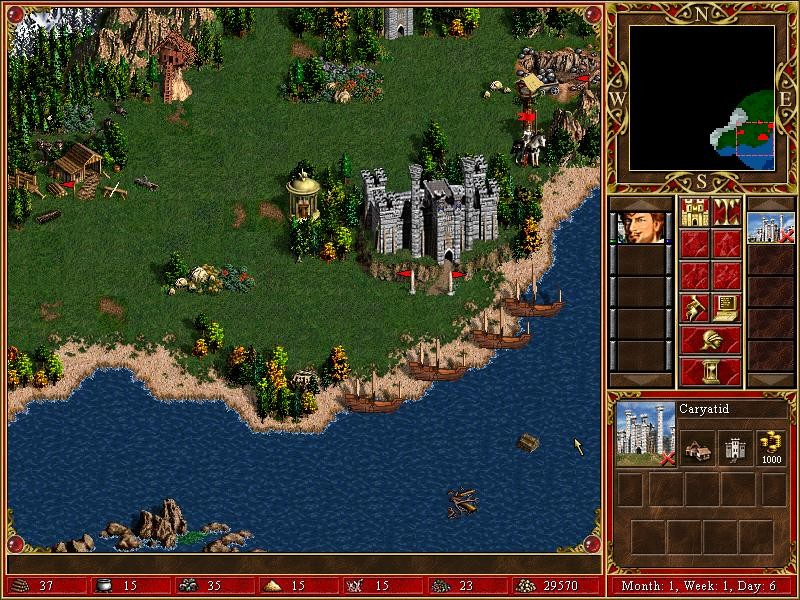 Heroes of Might and Magic III: Complete - Collector's Edition Screenshot