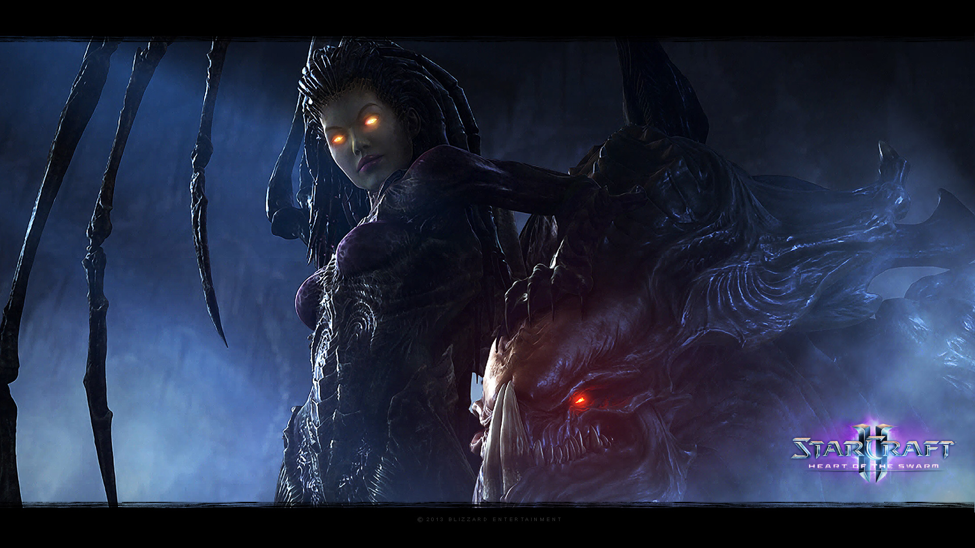 Starcraft Ii Heart Of The Swarm 2013 Promotional Art